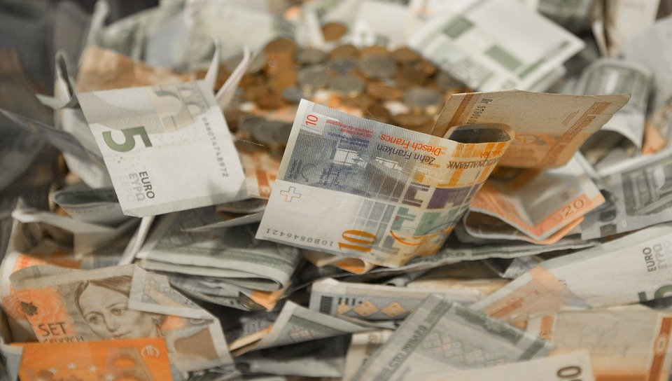Money, Cash, Coins, Euro, Currency, Business, Finance