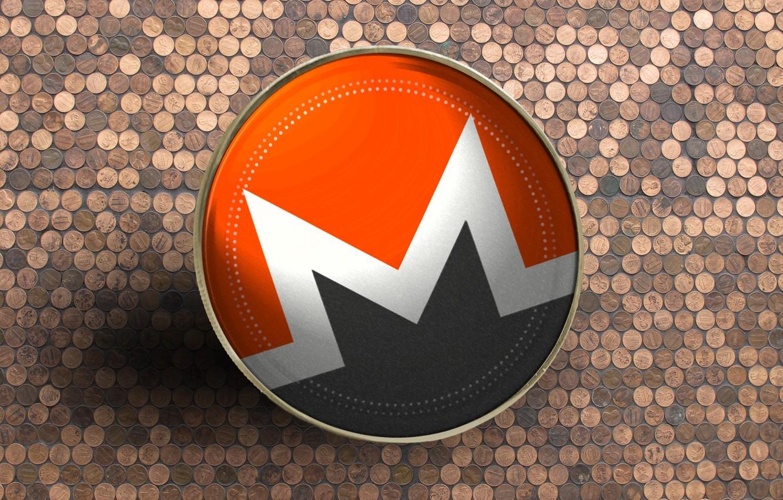 Wallpaper logo, currency, coin, Monero, monero, xmr images for desktop,  section hi-tech - download